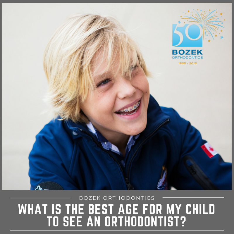 What is the Best Age for My Child to See an Orthodontist?