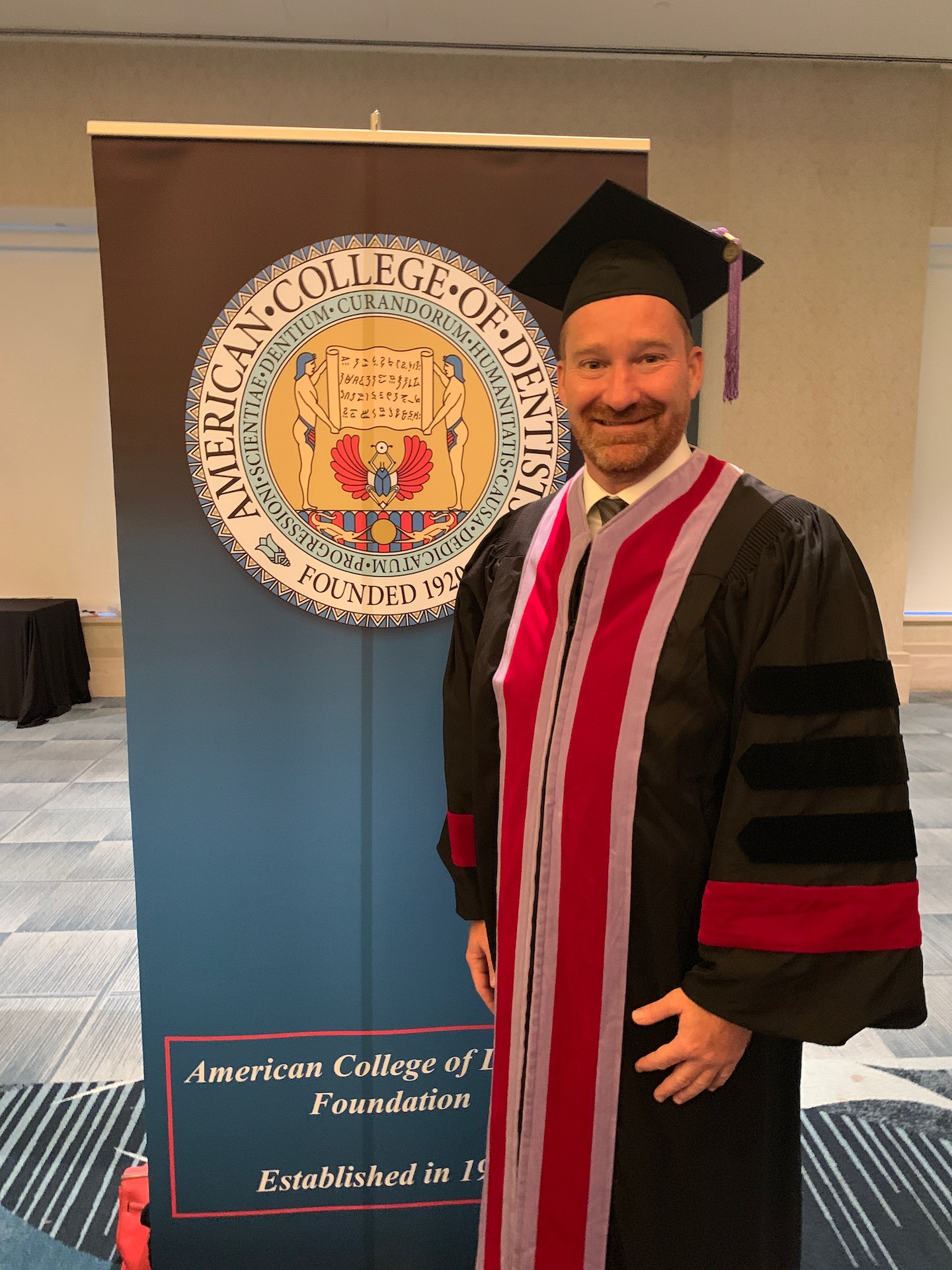 Dr. John - American College of Dentists!
